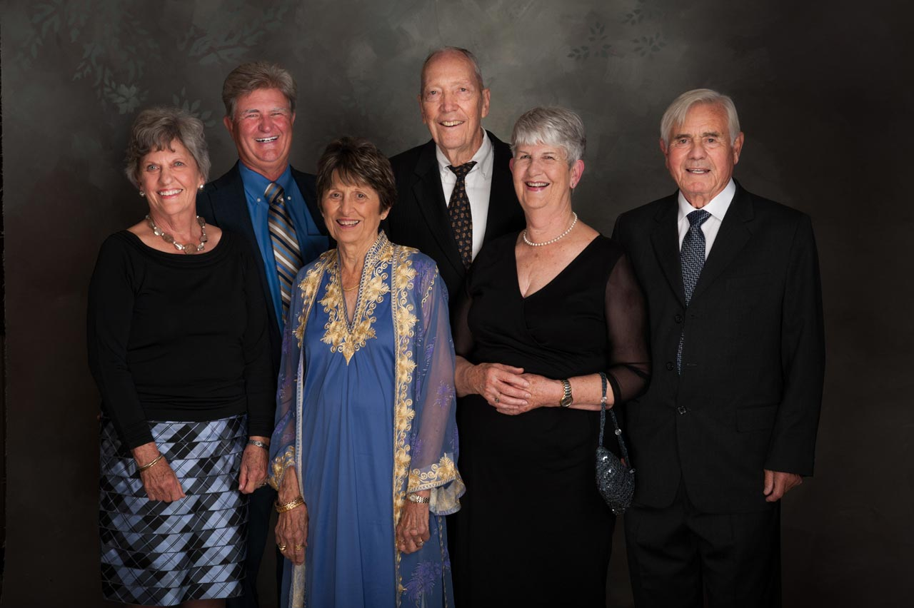 Karen Shepard and Gary Ingram, Dale and Edie Offield, Trish and Glyn Jenkins