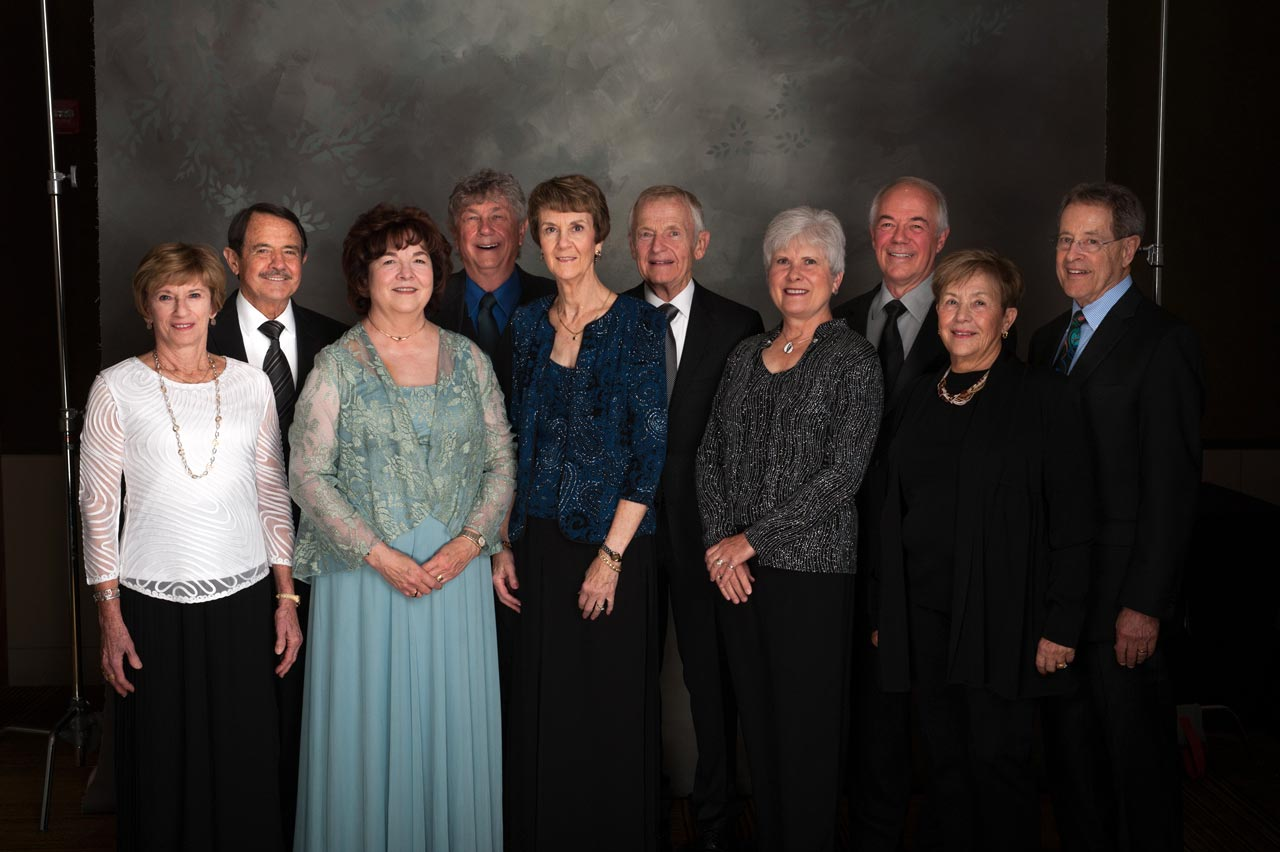 Linda and Jim Shearon, Paulette and Mel Misanko, Connie and Wayne Muncy, Schuyler and Phyllis Stuckey, Jane and Jary Archer