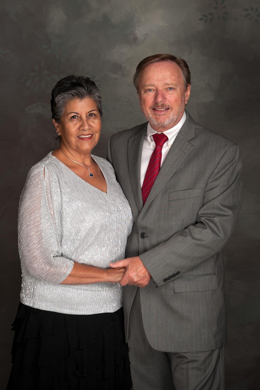 Juana Johnson and Dieter