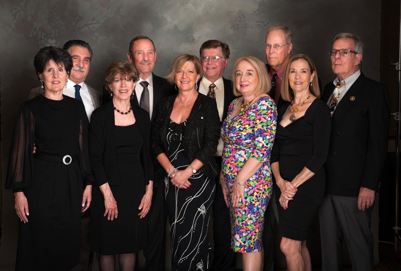 Melanie and Michael Jurlando, Sue and Gene Hansel, Janice and Eric Madsen, Geraldine and Carl Gossard, Norma and Tim Ackert