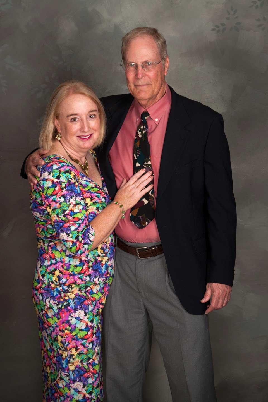 Geraldine and Carl Gossard