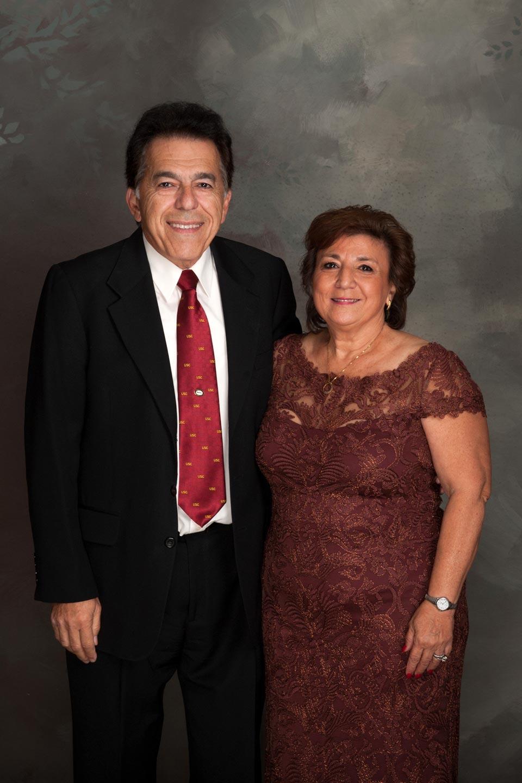 Ron and Vivian Nazeley