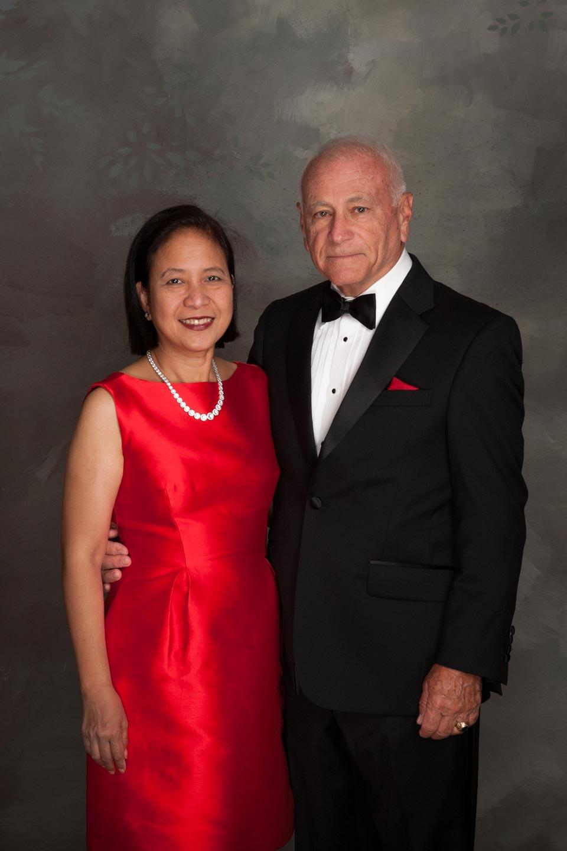Victoria Fernando and Ed Dymicki