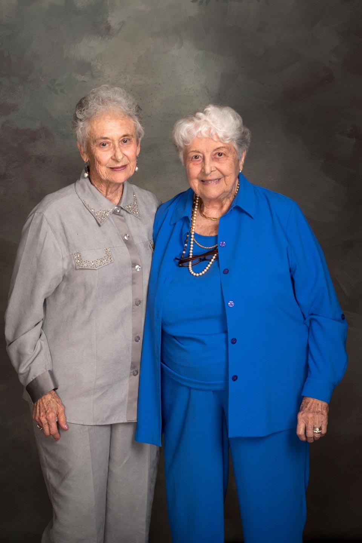 Pat Harrison and Rhona Messinger