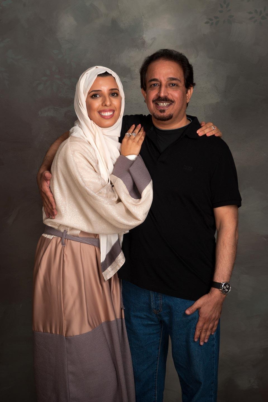 Farah AlSharif and Hussain Mohammed AlSharif