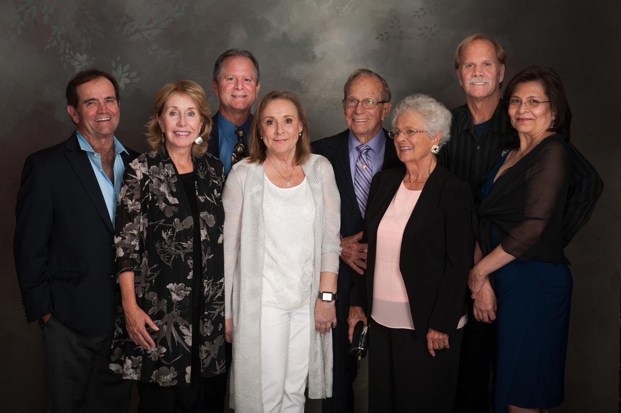 Jeff and Joyce Haug, Rod and Allison Haug, Buddy and Delores Haug, Wesley Haug and Angela Abueg