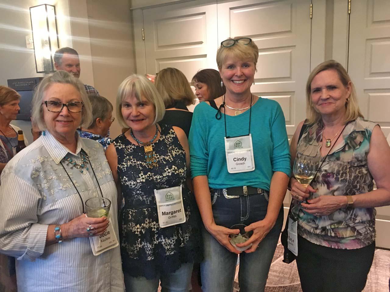 Josie Kaufeler, Margaret Griffith, Cindy Grosch, and Gayle Baldwin