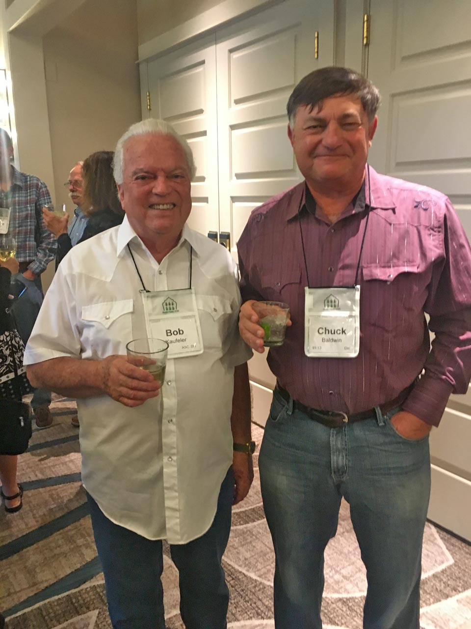 Bob Kaufeler with Chuck Baldwin