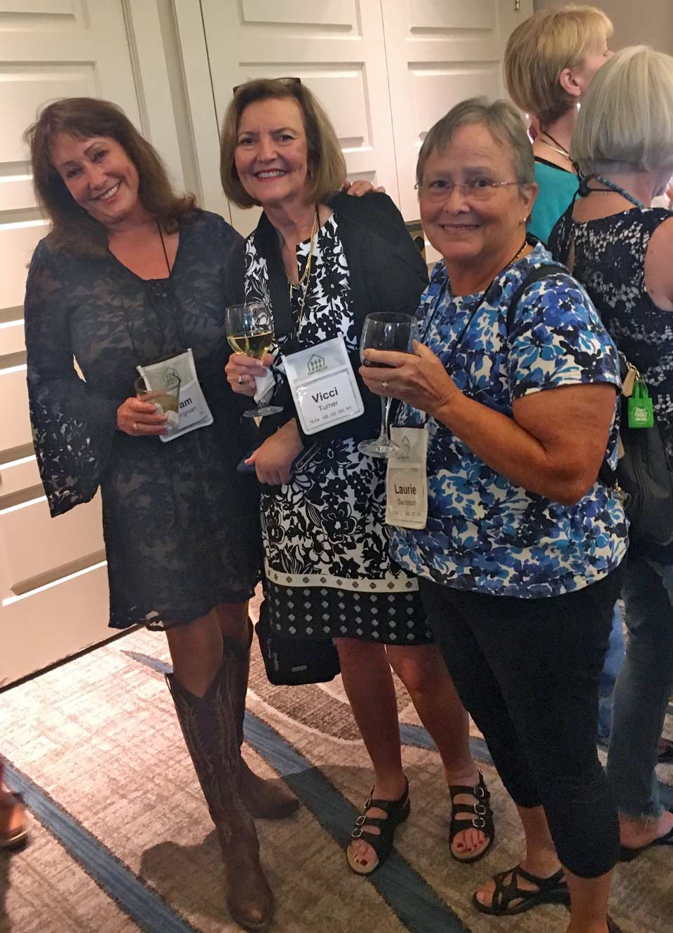 Pam Bergman, Vicci Turner, and Laurie Swanson