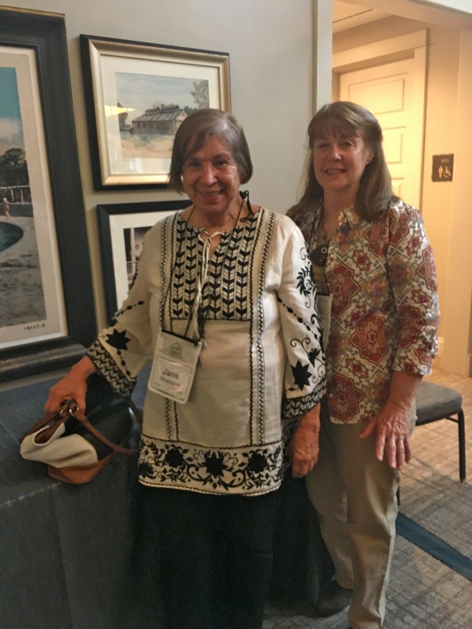 Jane Stillabower and friend