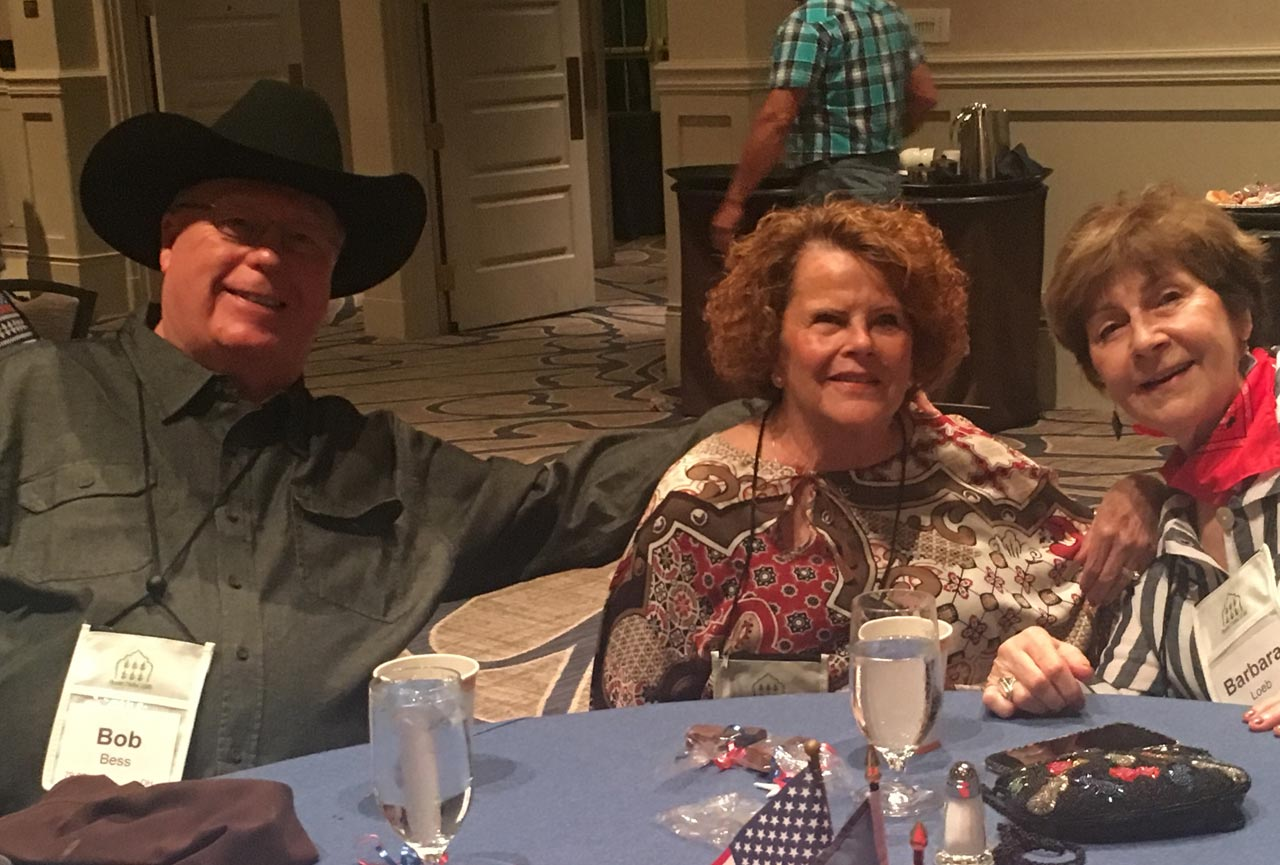 Bob & Nell Bess with Barbara Loeb