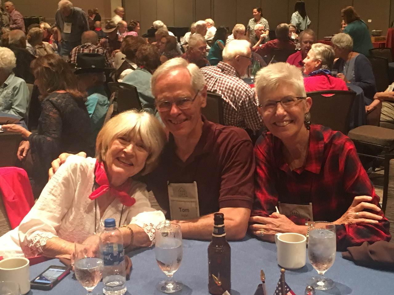Nancy Ackerman with Tom & Patsy Inglet