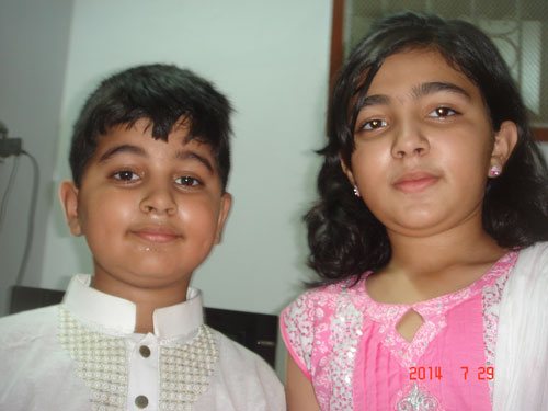 Eid Celebrations by SAEEA Office Holders in Karachi