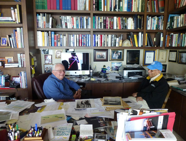 Shaikh Amin, Visit to Frank Jungers