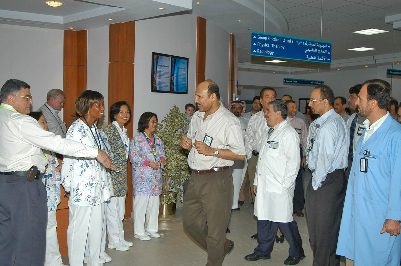 Shirley Seymour, Mr. Jumah, New Clinic Opening 2005