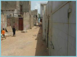 The RAWO is located at the end of Narrow Street in Korangi Area