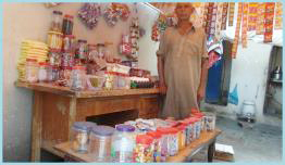 Shop at door step-Financed by RAWO