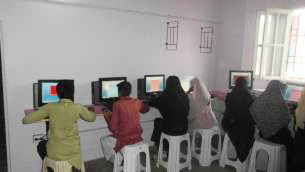 Computer School with classes for Boys and Girls