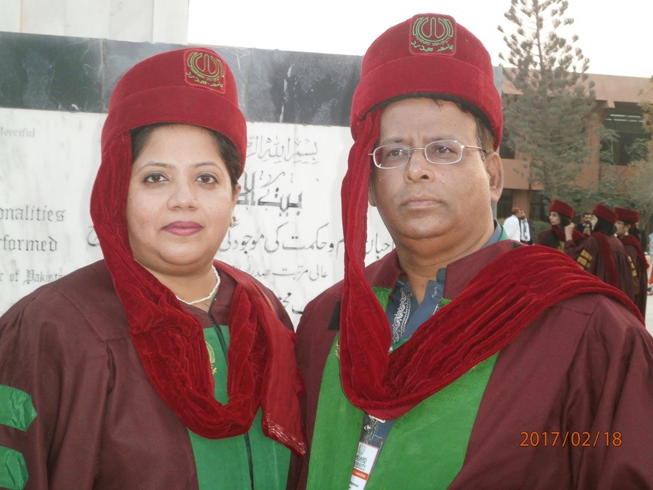 Dr. Kiran A. Rehman and Dr. Ata Ur Rehman