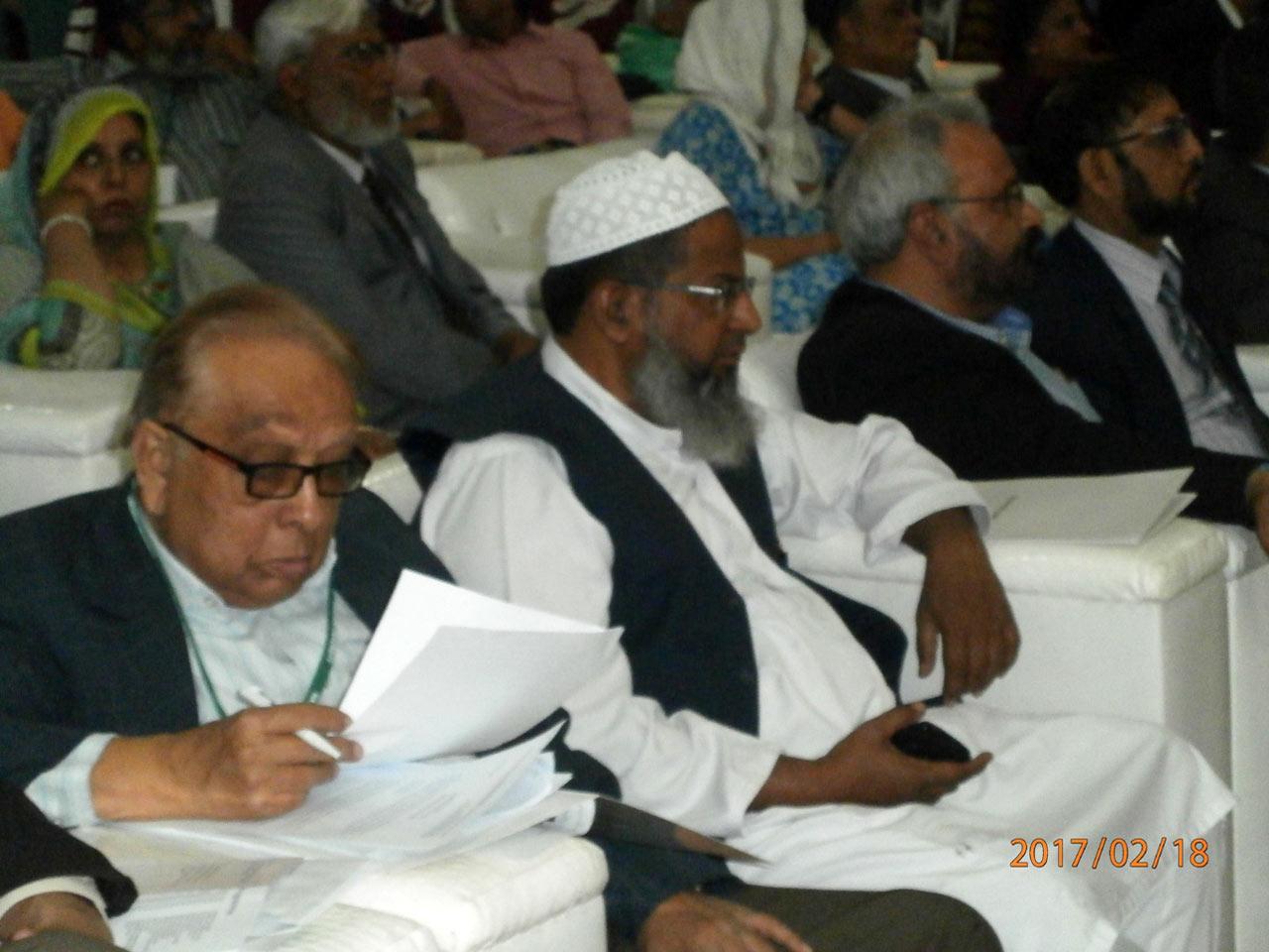 Hakim Abdul Bari-second from left