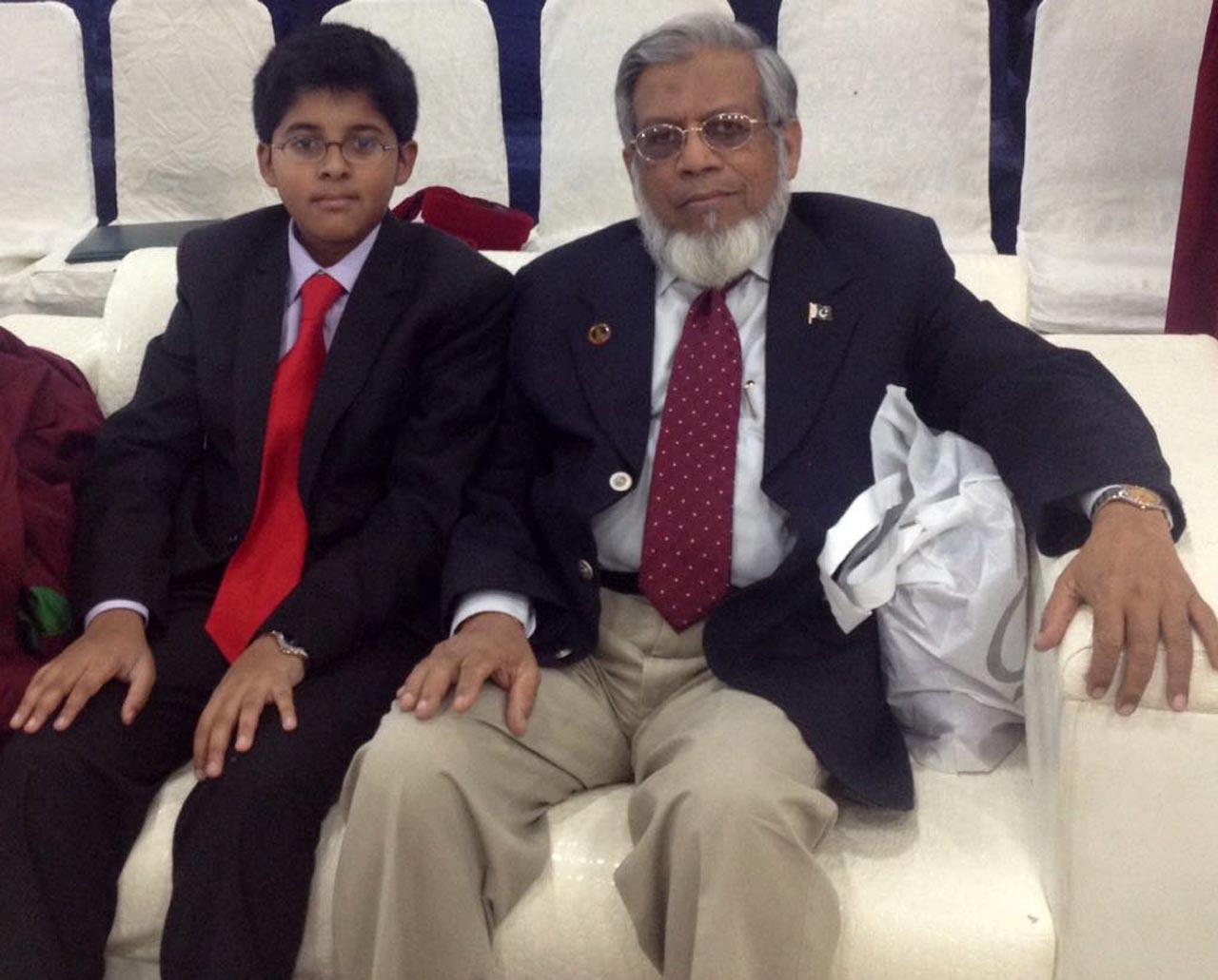 Habib and Iqbal Khan