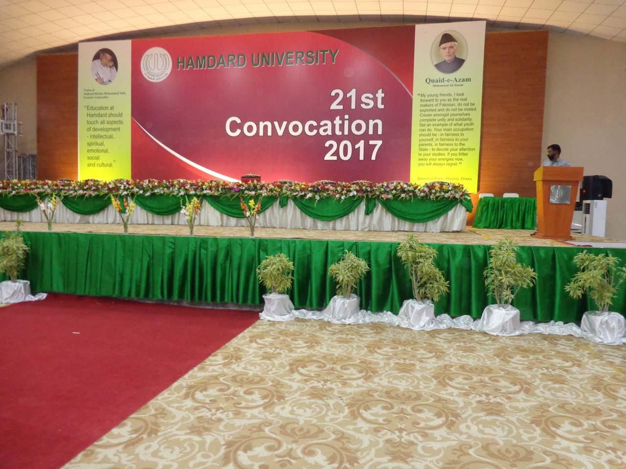 Hamdard University Convocation