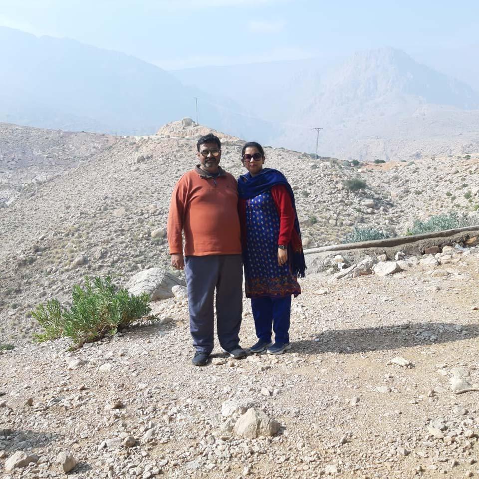 Imran and Erum at Wahi Pandhi