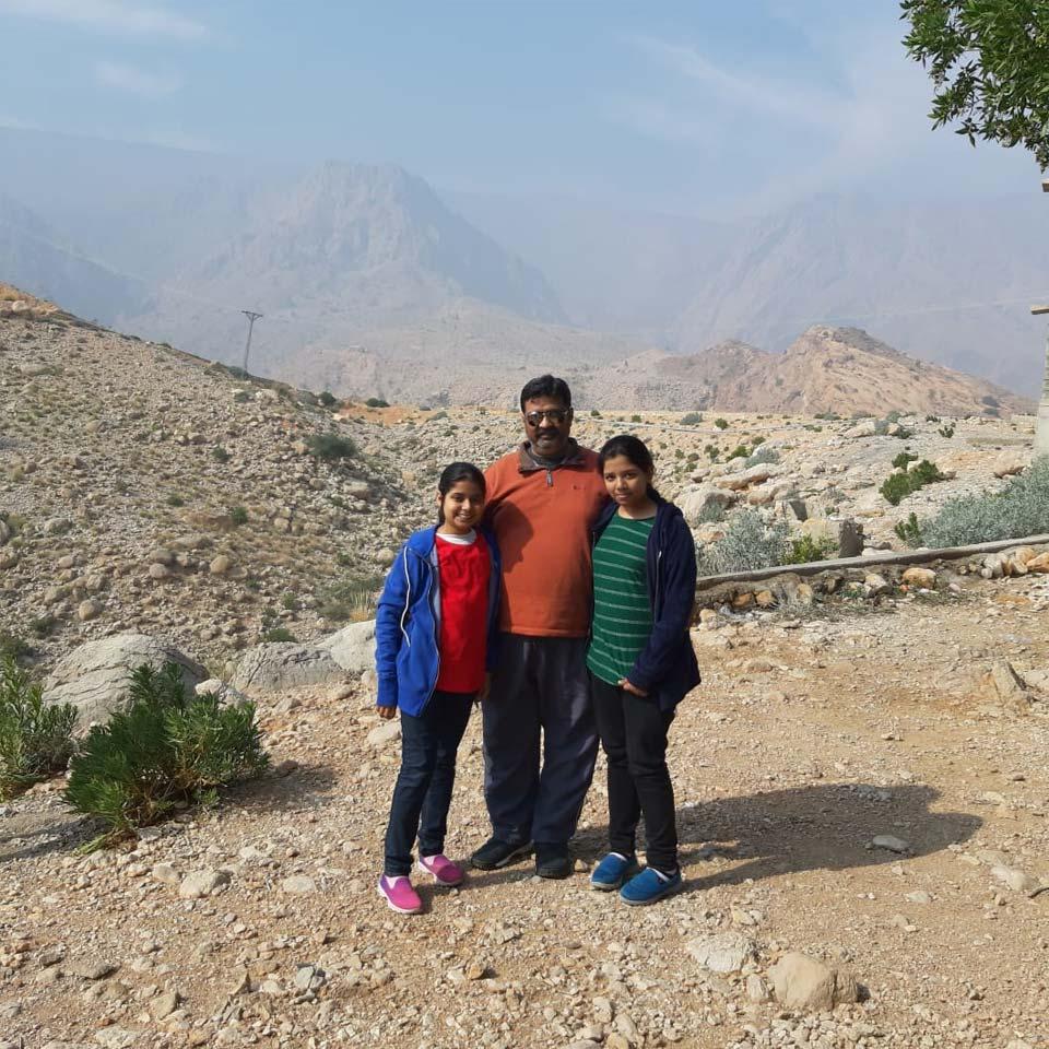 Zara, Imran and Zoya at Wahi Pandhi