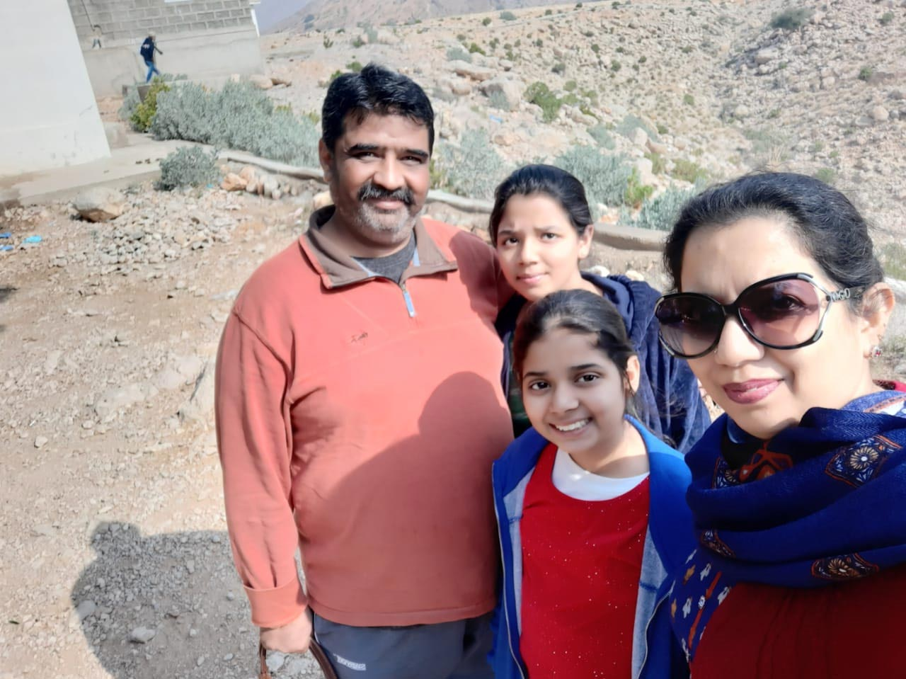 Imran, Zoya, Zara and Erum are at Johi on their way to Gorakh Hills
