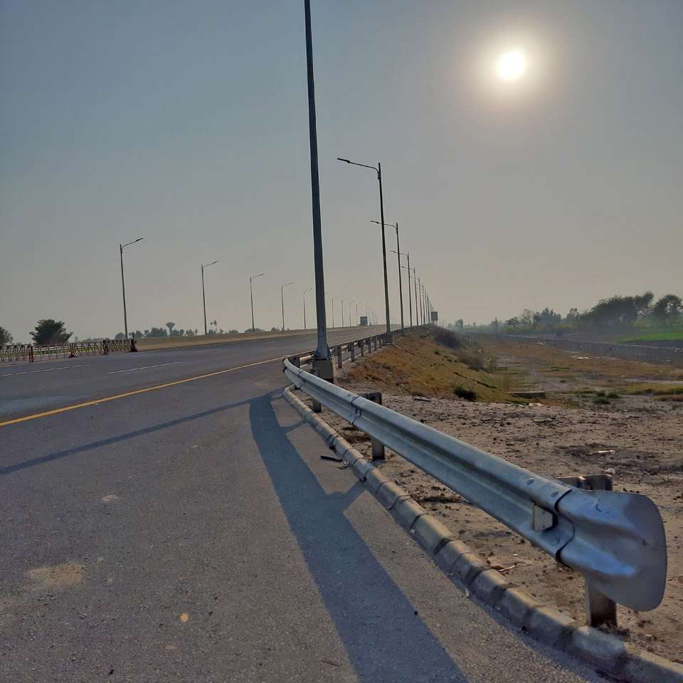 A view of the amazing Karachi, Hyderabad Motorway.