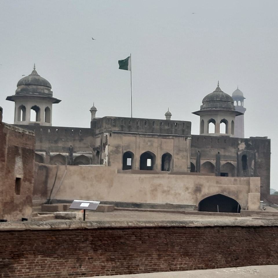 The Lahore Fort.