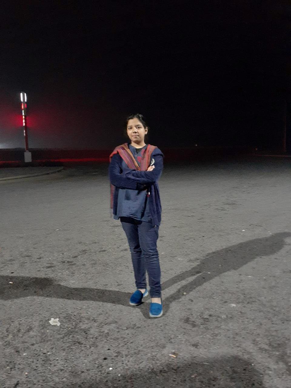 Zoya Imran is having her picture on Sukkur, Multan Motorway