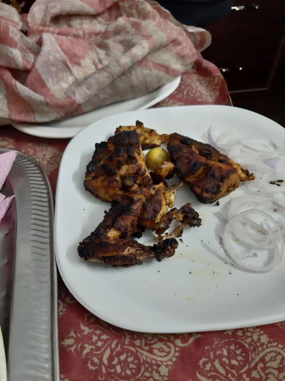 Delicious, traditional Chicken Sajji.