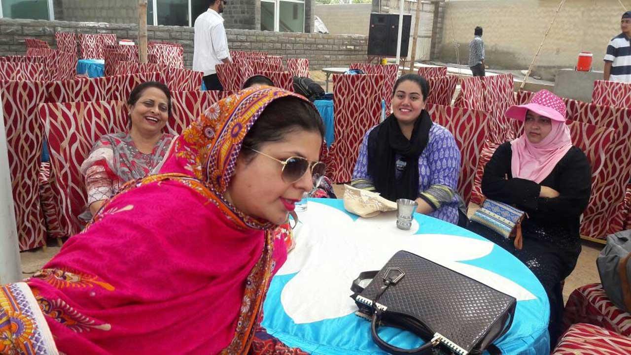 Dr.Sadia Sundus, Nasreen, Dr. Huma, Dr. Nasima
