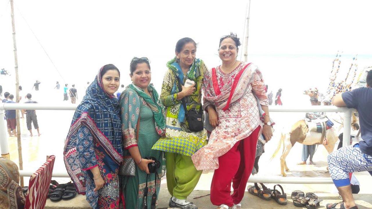 Ambareen, Dr. Kiran A. Rehman, Dr.Sadat and Nasreen Arshad