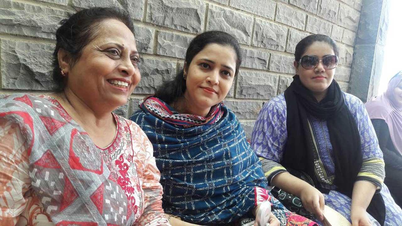 Nasreen Arshad, Ambreen and Dr. Huma