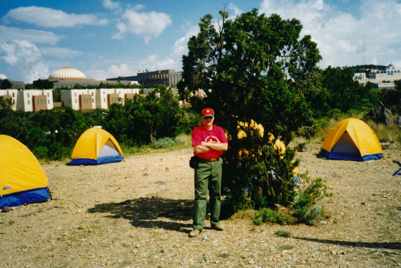 Scoutmaster, Chip Stansbury, Troop 256