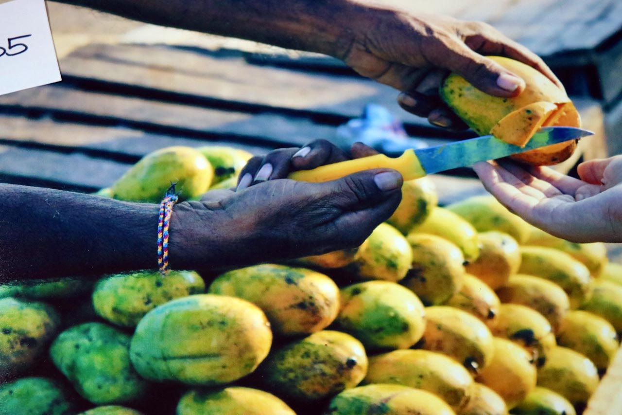 """Judges' Selection (first): """"A Sweet Welcome"""" in Sri Lanka by Tehreem Saood."""