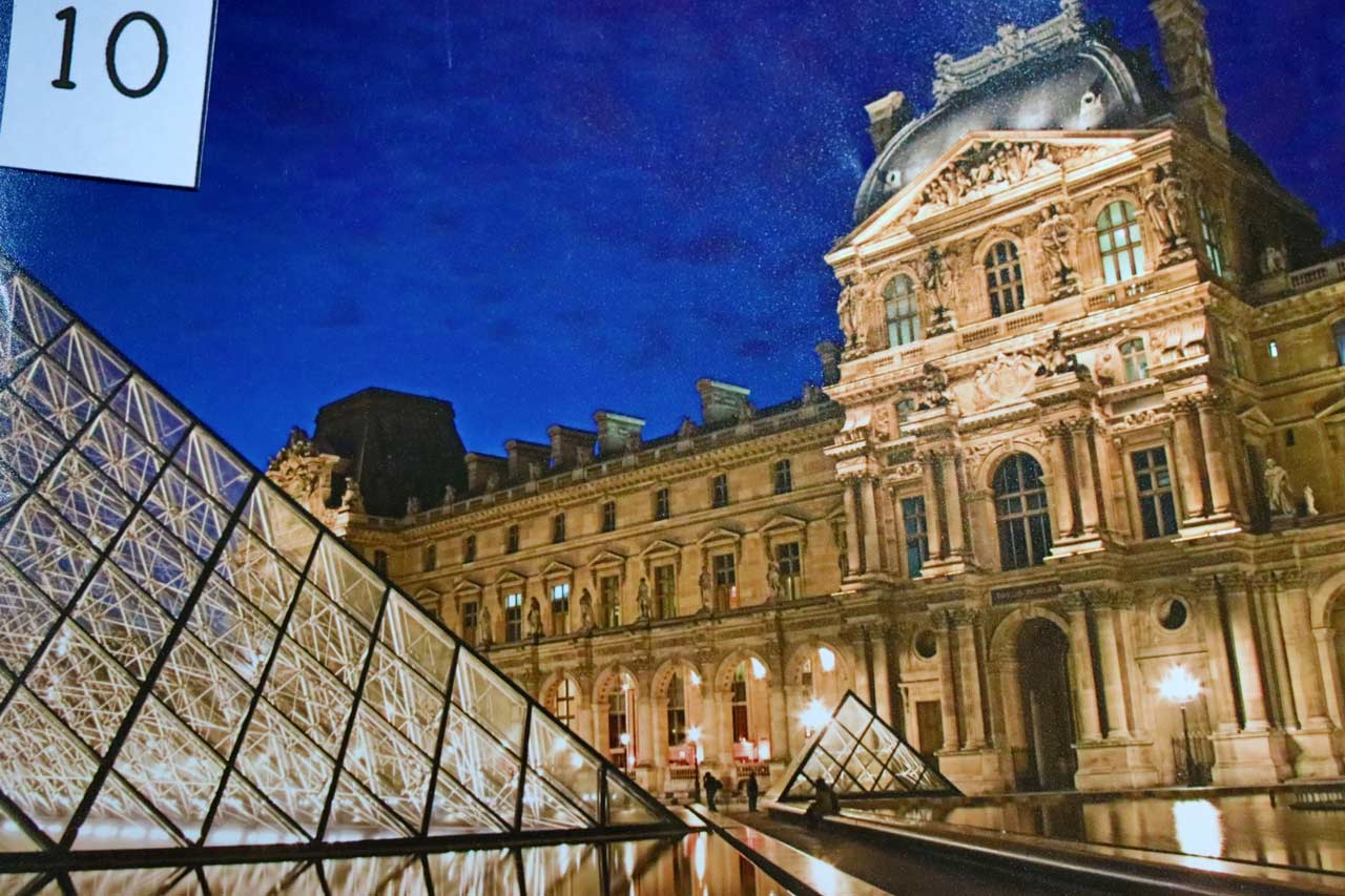 "Members' Favorite (first): ""Louvre at Twilight"" in Paris by Rinnie Nelson."