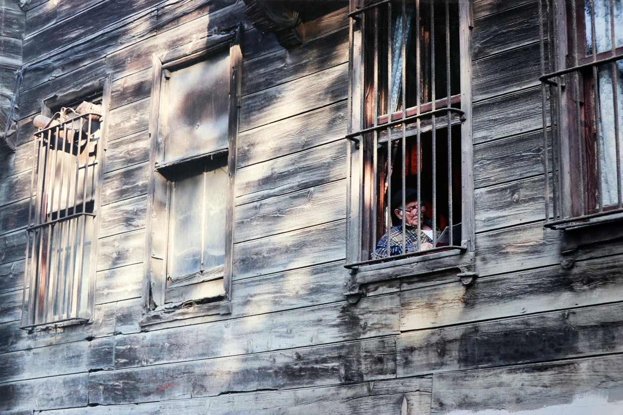 "Members' Favorite (third, tie): ""The Untold Story: Through the Eyes of An Elderly"" in Istanbul, Turkey by Atheer Al Ajmi."