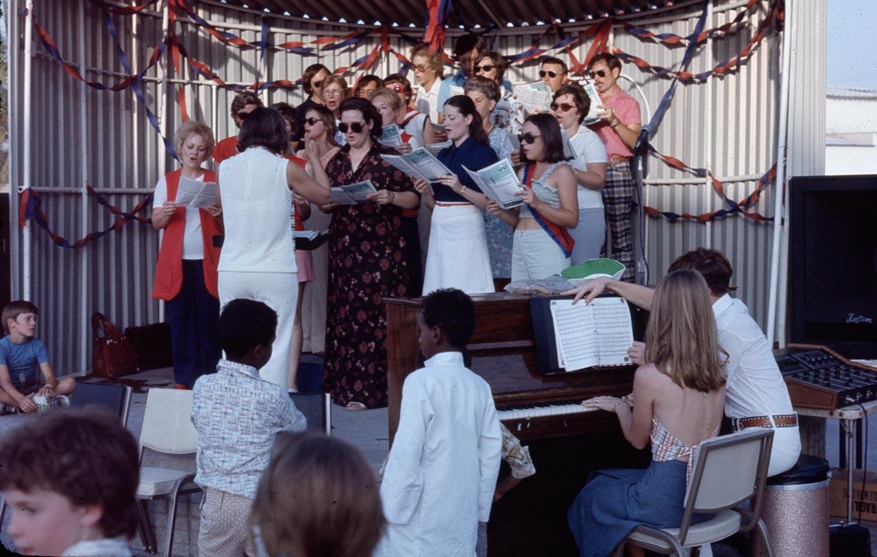 Abqaiq Singers circa 1970s