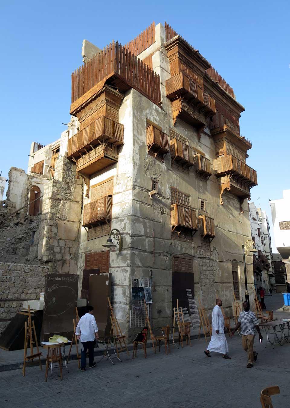 A typical Al-Balad house. © Mark Lowey