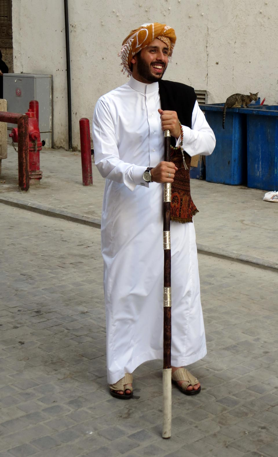 A traditionally dressed Hijazi. © Mark Lowey