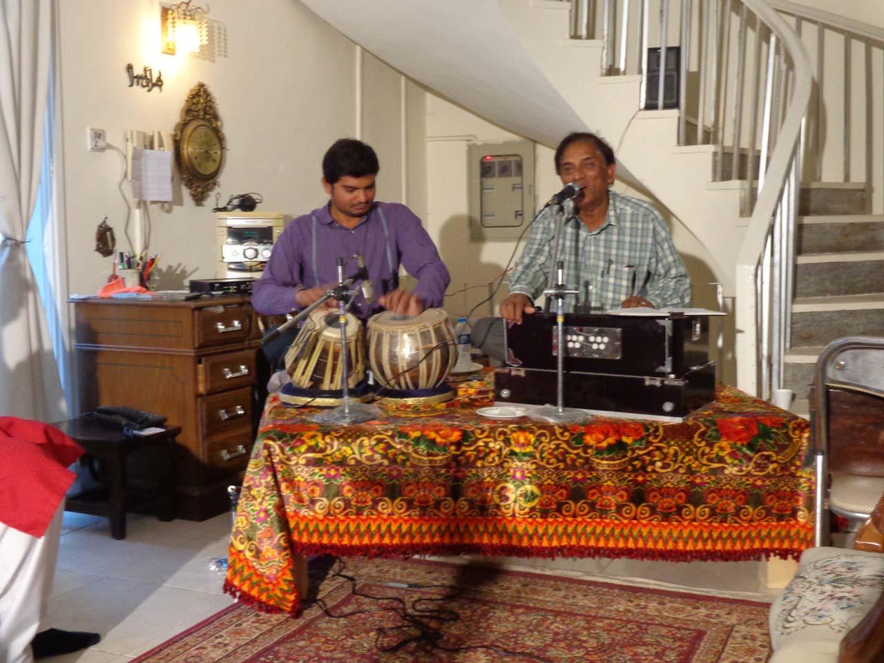 Almas Arif and Khalil Qureshi