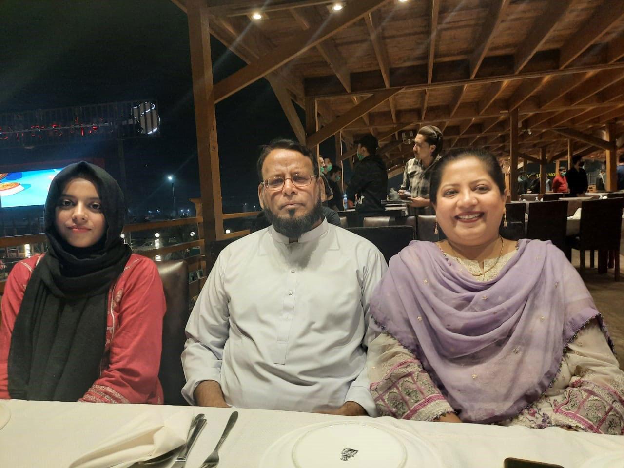 Mariam A. Rehman, Dr. Ata Ur Rehman, Dr. Kiran A. Rehman