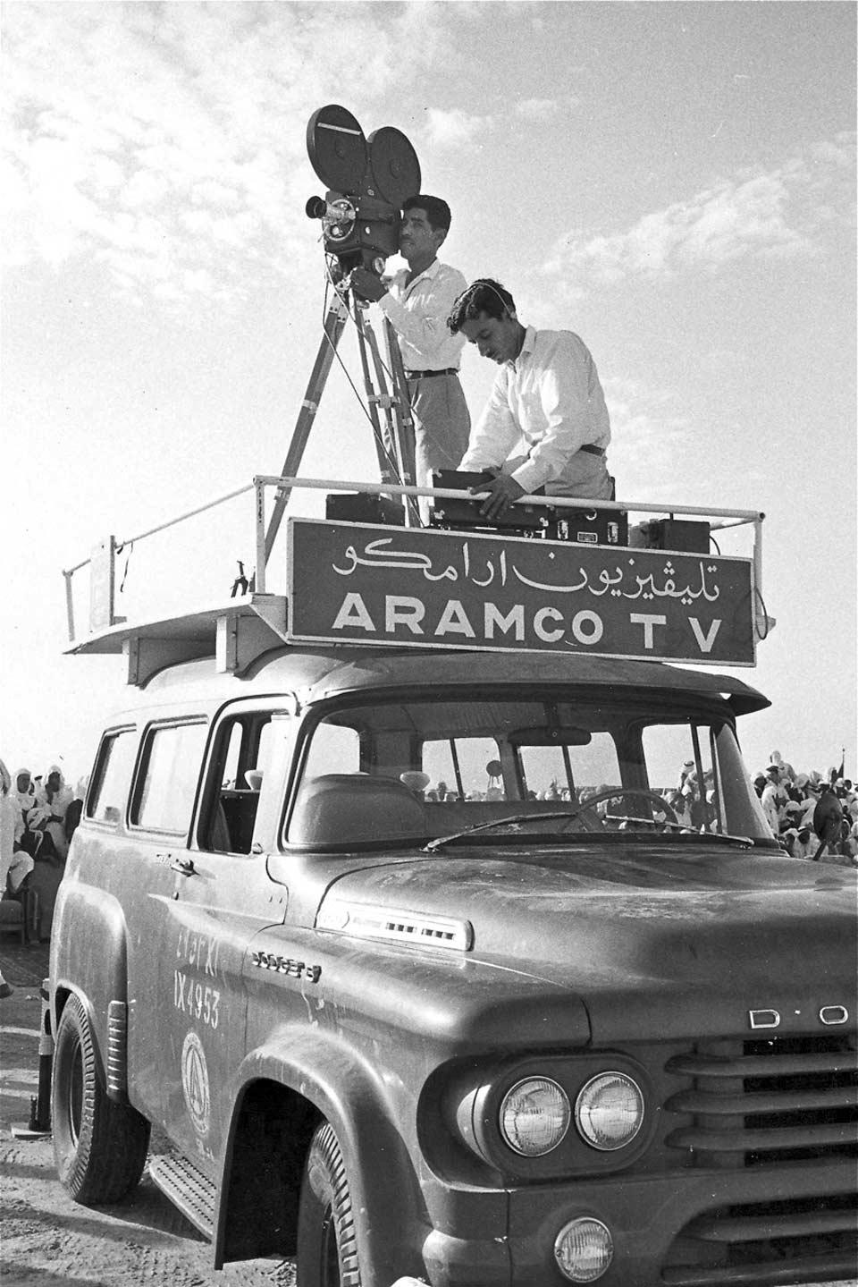 TV crew.