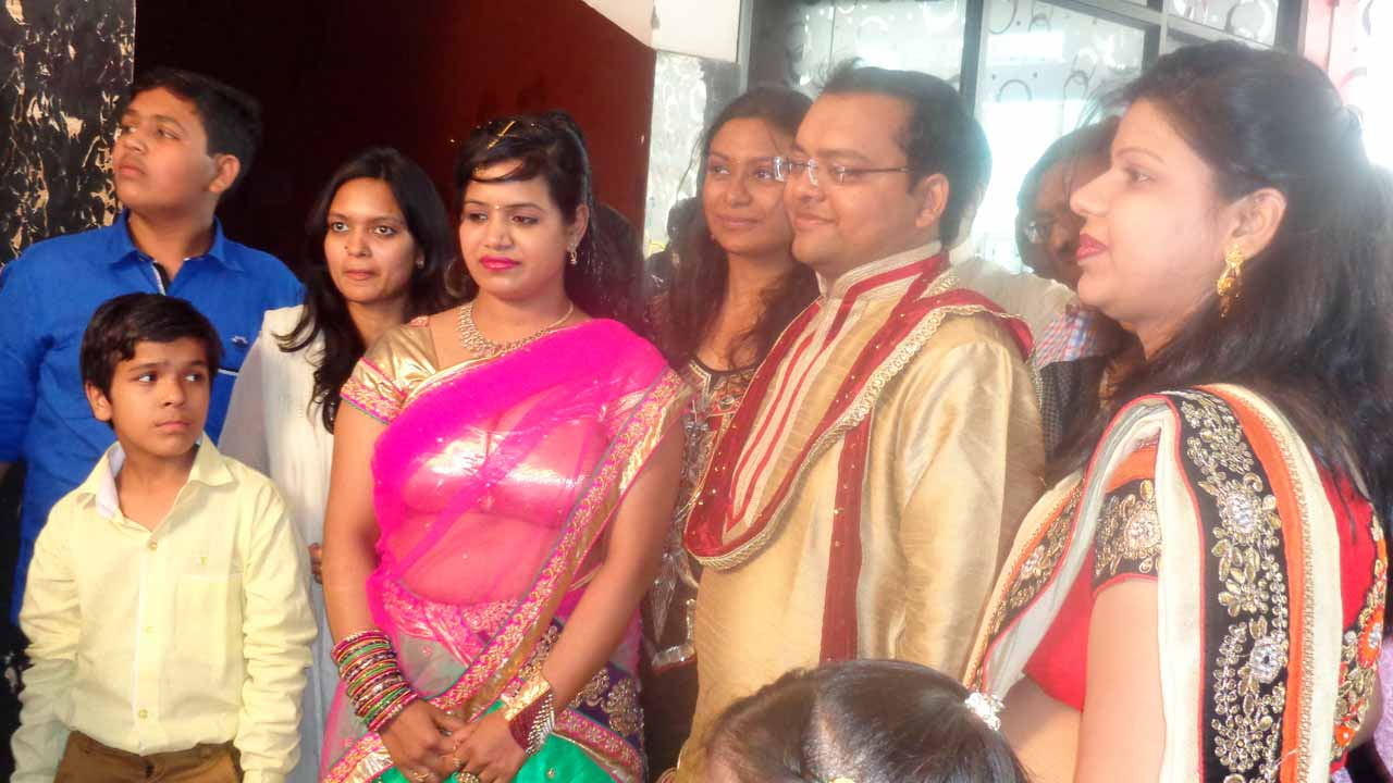 Family of Parag on the Sagai Reception