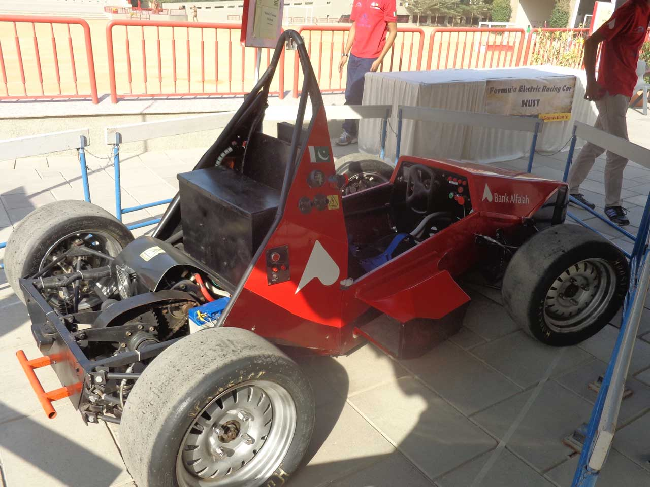 Formula Electric Racing Car - Built by NUST Students