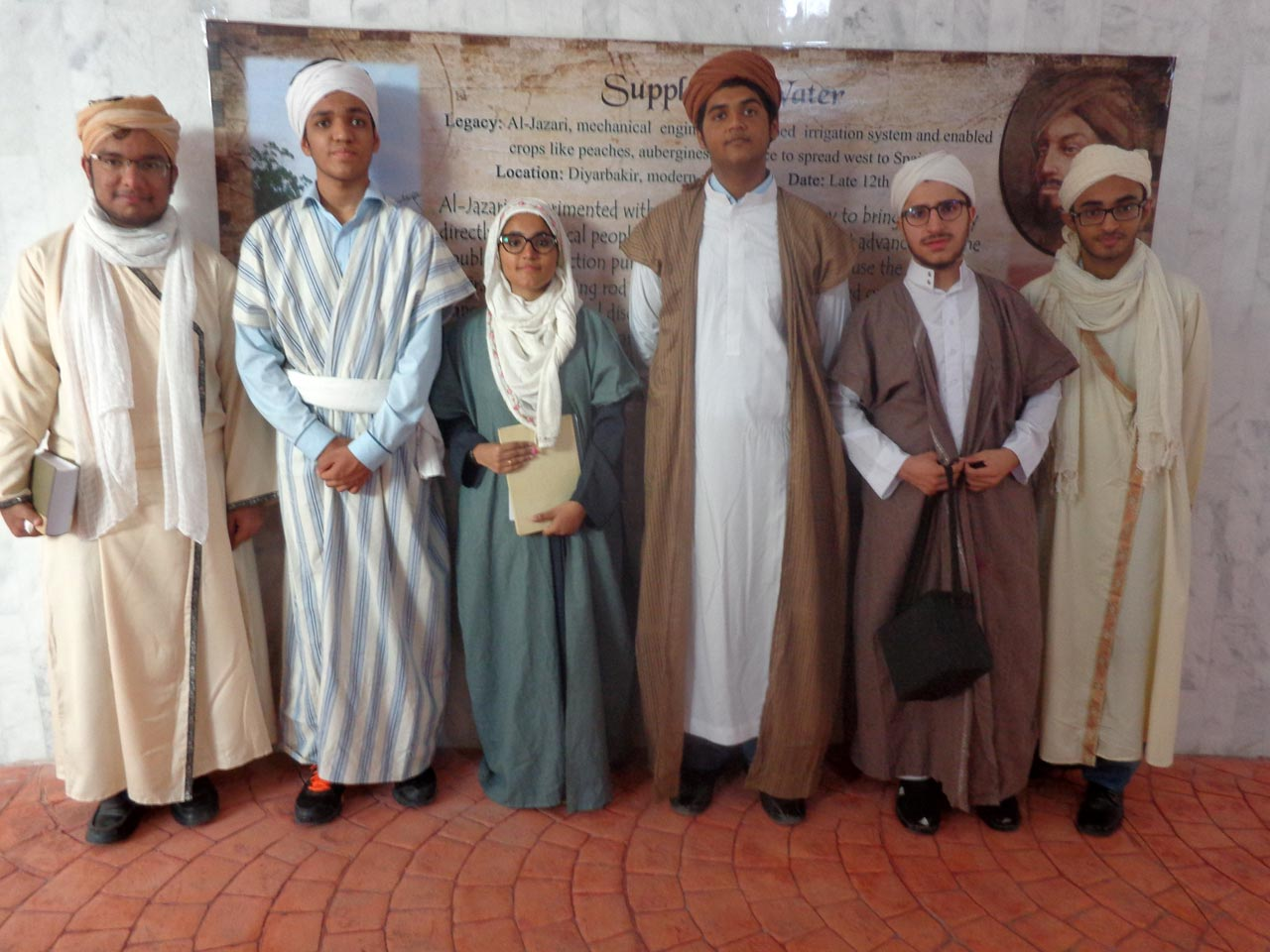 The young inventors of early regime at the Innovation Exhibition