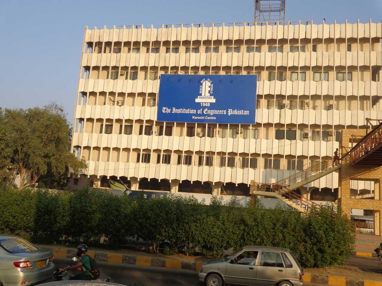 IEP Building Shahra-e-Faisal, Karachi